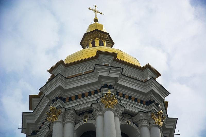 Купол Лаврской колокольни